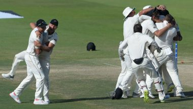 Live Cricket Streaming of New Zealand vs Sri Lanka Series on HotStar: Check Live Cricket Score, Watch Free Telecast of NZ vs SL 1st Test on TV & Online